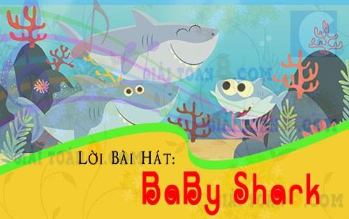 loi bai hat baby shark