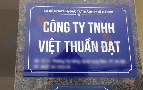 bang ten cong ty