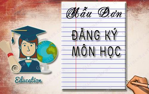 mau don dang ky mon hoc