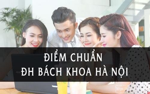 diem chuan dai hoc bach khoa ha noi 2019