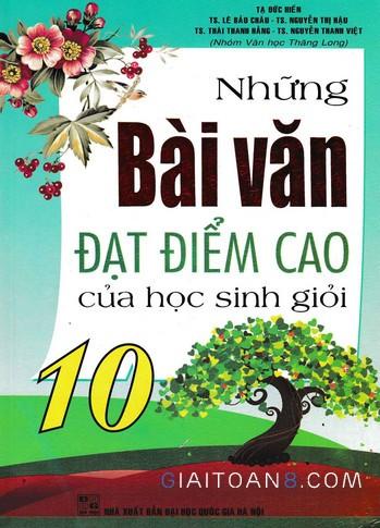 sach tham khao lop 10 mon van