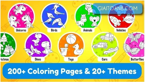 tai Coloring Book for Preschool and Kindergarten Kids